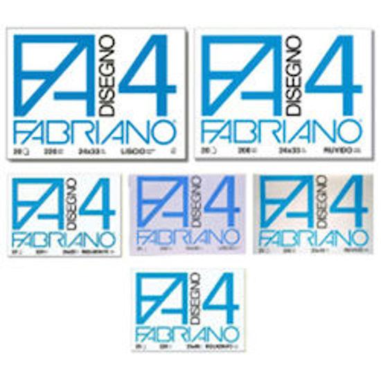 Immagine di Album Fabriano F4 liscio 33X48 20fg 220gr