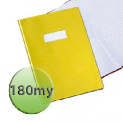 Immagine di Copertina per quaderni A4 180 micron gialla