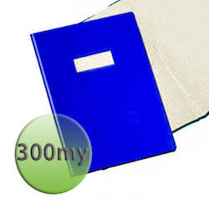 Immagine di Copertina per quaderni A4 300 micron blu