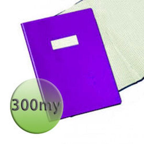 Immagine di Copertina per quaderni A4 300 micron viola