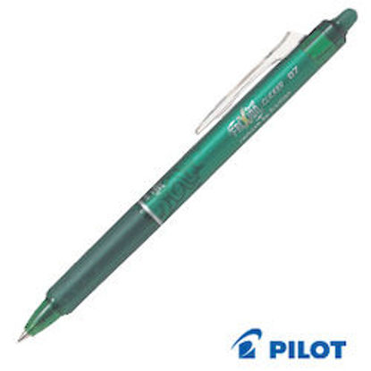 Immagine di Penna cancellabile Frixion Roller Ball Pen verde clicker