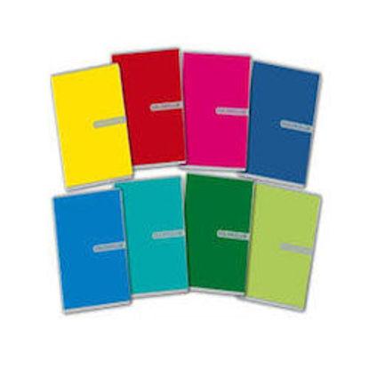 Immagine di Quaderno A5 Colorclub riga unica con margine 80gr