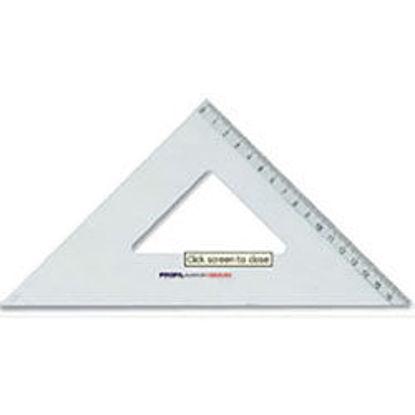 Immagine di Squadra 45° 35cm Arda Alluminio